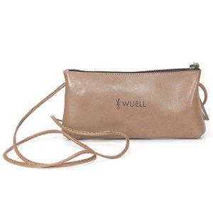 Bolsa Feminina em Couro Natural Wuell Casual Shoes - CN 0200