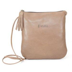 Bolsa Feminina em Couro Natural Wuell Casual Shoes - CN 0500