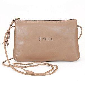 Bolsa Feminina em Couro Natural Wuell Casual Shoes - CN 0400