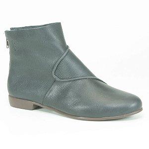 Bota feminina em Couro Wuell Casual Shoes - RO 0829 - marinho