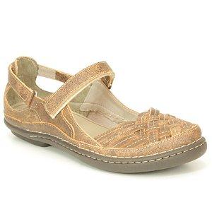 Sapato Feminino em couro Wuell Casual Shoes - JMA 2602 - laranja