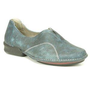 Sapato Feminino em couro Wuell Casual Shoes - JQC 4200 - azul