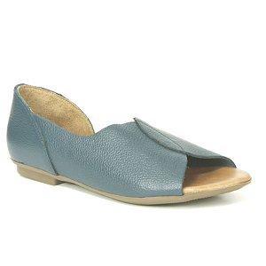 Sandália Feminina em couro Wuell Casual Shoes - AB 170 - azul