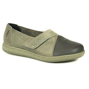 Sapato feminino em Couro Natural Wuell Casual Shoes - VC 73480 –  verde e preto