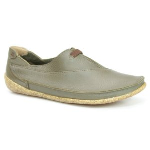 Sapato feminino em Couro Natural Wuell Casual Shoes - ZM 3875 –  verde