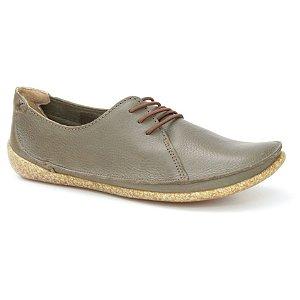 Sapato feminino em Couro Natural Wuell Casual Shoes - ZM 4175 –  verde