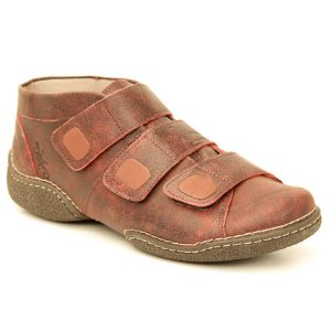 Bota Feminina em Couro Natural Wuell Casual Shoes - JMC 2300 - bordô