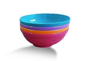 Conjunto de Bowls Pequeno 300ml (4 unidades) Rosa