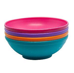 Conjunto de Bowls Grande 500ml (4 unidades) Rosa