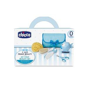 Meu Primeiro Kit de Beleza Chicco Azul