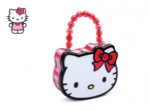 Bolsa Metálica Hello Kitty - Doçura Fashion