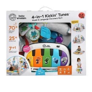 Tapete de Atividades 4 em 1 Kickin Tunes Music Discovery Baby Einstein