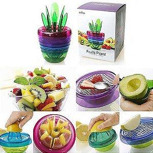 Conjunto para frutas com 14 peças