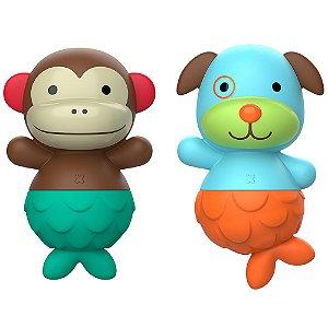 Brinquedo de Banho Skip Hop Macaco e Cachorro