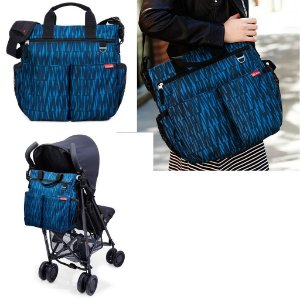 Bolsa Maternidade - (Diaper Bag) - Duo Blue Graffiti Skip Hop