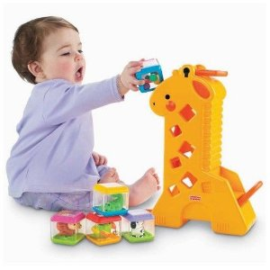 Girafa Fisher Price Blocos Surpresa
