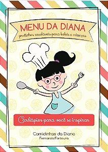 Livro Menu da Diana (Comidinhas da Diana)