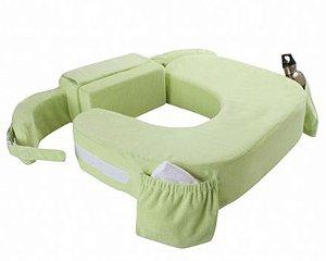Travesseiro para amamentação Deluxe para Gêmeos