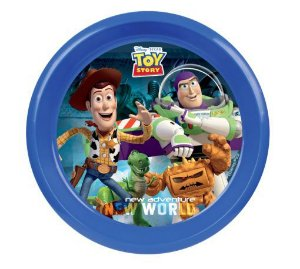 Prato Raso Decorado Toy Story (Fundo Branco)