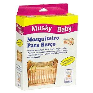 Mosquiteiro Para Berço Musky Baby