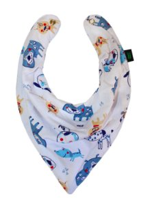 Babador Bandana Blue Dog