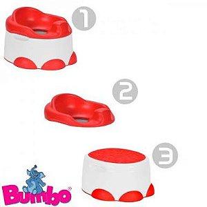 Step n' Potty Bumbo (3 em 1) - Banquinho e Penico Bumbo