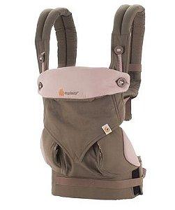 Canguru Baby Carrier Ergobaby - Coleção 360 - Taupe & Lilac