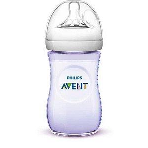 Mamadeira 260ml PETALA BPA Free Avent Lilás