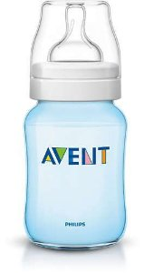 Mamadeira Avent Feeding Bottle Azul 260 ml