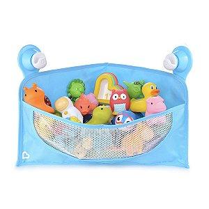 Cesta Organizadora para Brinquedos de Banho Azul