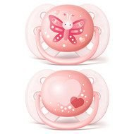 Chupeta Philips Avent Ultra Soft Decorada 0 a 6 Meses