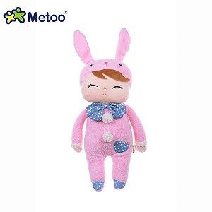 Boneca Metoo Angela Pink Bunny 33cm
