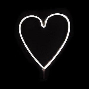 Luminária com Led Coração