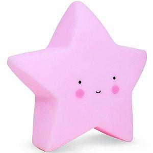 Luminária Estrela Rosa