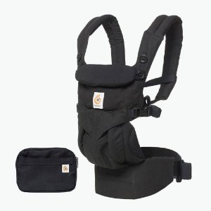 Canguru Ergobaby Omni 360 All in One Pure Black (Preto)
