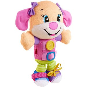 Cachorrinho Hora de Vestir Fisher Price Rosa