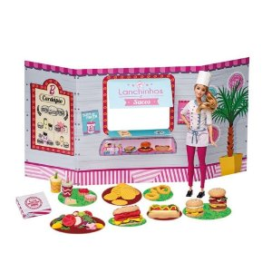 Food Truck da Barbie - Lanchinhos