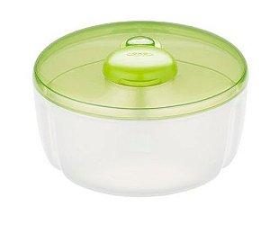 Dosador de leite em pó/ fórmula 250ml Verde