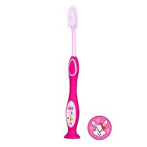 Escova de Dentes Chicco 3 a 6 anos Rosa