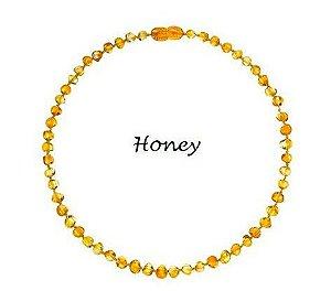 Colar de Ambar Baroque Honey - 32cm