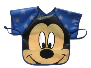 Babador Impermeável Avental Mickey