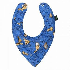Babador Bandana Garfield Azul