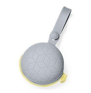 Porta Chupeta em Silicone Grey (Grab & Go Skip Hop)