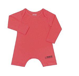 Macacão Infantil com proteção UV Orange