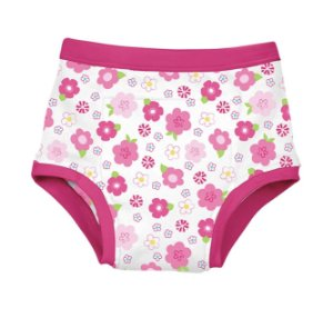 Calcinha de treinamento para desfralde Floral Pink