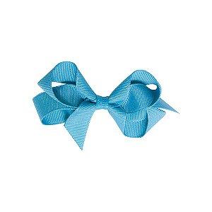 Laço em gorgurão Azul Claro Gumii (Pequeno 5cm)
