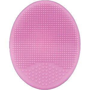 Escovinha de Banho Macia em silicone - Rosa