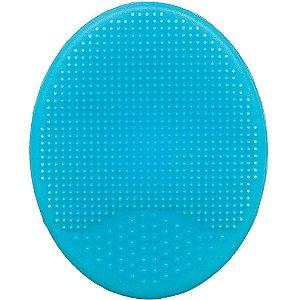 Escovinha de Banho Macia em silicone - Azul