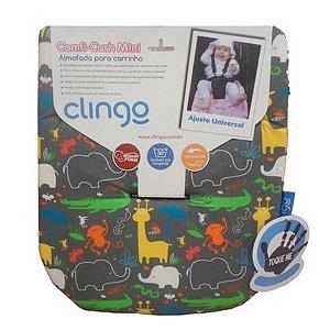 Mini Almofada para Carrinho Comfi-Cush Clingo Jungle Boogie
