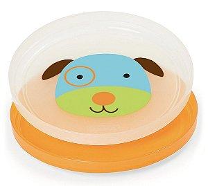 Kit de pratos empilháveis Skip Hop Zoo Cachorro